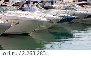 Купить «Яхты», фото № 2263283, снято 4 декабря 2010 г. (c) Алексей Кузнецов / Фотобанк Лори