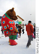 Купить «Рождественские гуляния в Красной Поляне», эксклюзивное фото № 2264027, снято 7 января 2011 г. (c) Анна Мартынова / Фотобанк Лори