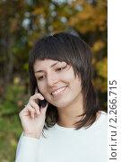 Купить «Девушка, брюнетка», фото № 2266715, снято 2 октября 2010 г. (c) Василий Вишневский / Фотобанк Лори