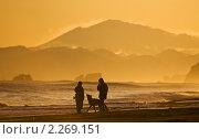 Купить «Прогулка по берегу Тихого океана», фото № 2269151, снято 6 декабря 2009 г. (c) Ирина Игумнова / Фотобанк Лори