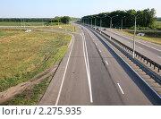 """Купить «Федеральная трасса М-4 """"Дон""""», эксклюзивное фото № 2275935, снято 19 июля 2010 г. (c) Дмитрий Неумоин / Фотобанк Лори"""