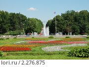 Купить «Москва. Парк Сокольники. Фонтан», эксклюзивное фото № 2276875, снято 19 июня 2010 г. (c) lana1501 / Фотобанк Лори