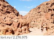 Купить «Цветной каньон. Синай. Египет», фото № 2276975, снято 8 января 2011 г. (c) Екатерина Овсянникова / Фотобанк Лори