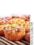 Различные пирожные. Стоковое фото, фотограф Петр Малышев / Фотобанк Лори