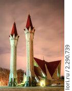 Купить «Мечеть Ляля-Тюльпан», фото № 2290739, снято 21 января 2011 г. (c) Art Konovalov / Фотобанк Лори