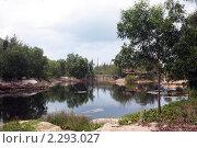 Купить «Озеро Обезьяний остров Вьетнам», фото № 2293027, снято 2 мая 2010 г. (c) Александр Давыдов / Фотобанк Лори