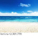 Купить «Море и песок», фото № 2301779, снято 2 ноября 2009 г. (c) Iakov Kalinin / Фотобанк Лори