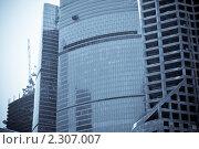 Москва-Сити (2011 год). Редакционное фото, фотограф Мишкин Евгений / Фотобанк Лори