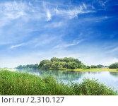 Купить «Река Кубань», фото № 2310127, снято 20 мая 2018 г. (c) Triff / Фотобанк Лори