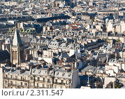 Купить «Крыши Парижа. Франция», фото № 2311547, снято 21 октября 2010 г. (c) Николай Коржов / Фотобанк Лори