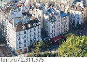 Купить «Вид с собора Нотр дам де Пари (Notre dame de Paris). Франция.», фото № 2311575, снято 21 октября 2010 г. (c) Николай Коржов / Фотобанк Лори