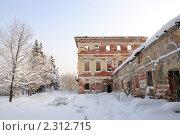 Купить «Усадьба Гребнево», фото № 2312715, снято 27 января 2011 г. (c) Игорь Жильчиков / Фотобанк Лори