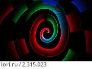 Купить «Абстрактный фон  -рисование светом», фото № 2315023, снято 27 декабря 2009 г. (c) Losevsky Pavel / Фотобанк Лори