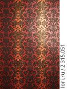 Купить «Обои в винтажном стиле», фото № 2315051, снято 1 октября 2009 г. (c) Losevsky Pavel / Фотобанк Лори