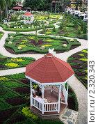 Купить «Беседка в ботаническом саду Нонг Нуч, Таиланд», фото № 2320343, снято 8 февраля 2008 г. (c) Oleg Ivanenko / Фотобанк Лори