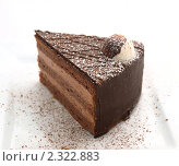 Шоколадный торт. Стоковое фото, фотограф Ваганова Марина / Фотобанк Лори