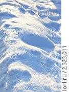 Купить «Снежный фон», фото № 2323011, снято 5 января 2011 г. (c) Роман Сигаев / Фотобанк Лори