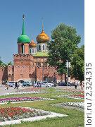 Купить «Тульский кремль», фото № 2324315, снято 13 июня 2009 г. (c) Денис Ларкин / Фотобанк Лори