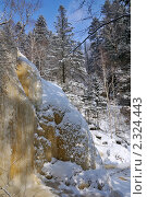 Водопад на ключе Тигровый. Стоковое фото, фотограф Сергеев Игорь / Фотобанк Лори