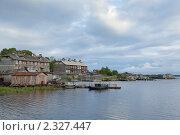 Купить «Город Кемь на берегу Белого моря», фото № 2327447, снято 2 июля 2010 г. (c) Михаил Иванов / Фотобанк Лори