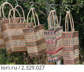 Продажа сумок. Стоковое фото, фотограф Николай Коржов / Фотобанк Лори