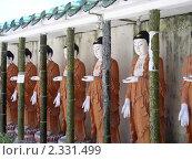 Буддийский храмовый комплекс (2010 год). Стоковое фото, фотограф Баранов Александр / Фотобанк Лори