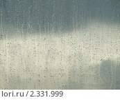 Капли дождя на окне. Стоковое фото, фотограф Константин Болотин / Фотобанк Лори