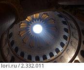 Купол Храма Гроба Господня. Стоковое фото, фотограф Константин Болотин / Фотобанк Лори