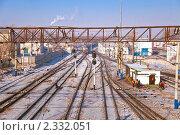 Станция Чита-1. Забайкальская железная дорога (2011 год). Стоковое фото, фотограф Геннадий Соловьев / Фотобанк Лори