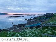 Купить «Белая ночь над заливом Белого моря», фото № 2334395, снято 4 июля 2010 г. (c) Михаил Иванов / Фотобанк Лори