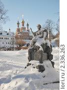Купить «Новодевичий монастырь. Москва», эксклюзивное фото № 2336263, снято 31 января 2011 г. (c) stargal / Фотобанк Лори