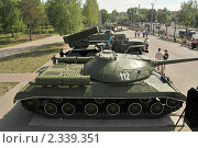 Купить «Танк ИС-3 в парке Победы, Челябинск», фото № 2339351, снято 15 мая 2010 г. (c) Малышев Андрей / Фотобанк Лори