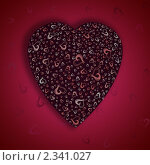 Сердце. Стоковая иллюстрация, иллюстратор Ольга Зайцева / Фотобанк Лори