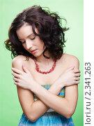 Купить «Красивая девушка», фото № 2341263, снято 17 декабря 2010 г. (c) Serg Zastavkin / Фотобанк Лори