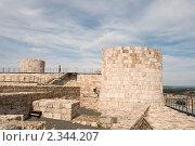 Купить «Развалины замка в Бургосе», фото № 2344207, снято 27 июня 2009 г. (c) Elena Monakhova / Фотобанк Лори