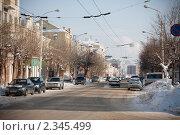 Купить «Уфа», фото № 2345499, снято 12 февраля 2011 г. (c) Михаил Валеев / Фотобанк Лори