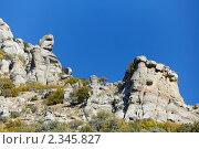 Гора Демерджи, долина Привидений. Крым (2010 год). Стоковое фото, фотограф Олег Титов / Фотобанк Лори