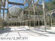 Внутри Паласьо-де-Кристаль в парке Буэн-Ретиро в Мадриде (2009 год). Стоковое фото, фотограф Elena Monakhova / Фотобанк Лори