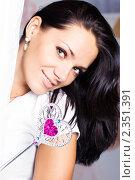 Купить «Красивая девушка», фото № 2351391, снято 14 января 2011 г. (c) Вероника Галкина / Фотобанк Лори