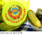 Купить «Закуска из огурцов», эксклюзивное фото № 2351519, снято 12 января 2011 г. (c) Blekcat / Фотобанк Лори