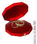 Обручальные кольца, иллюстрация № 2354787 (c) Геннадий Соловьев / Фотобанк Лори