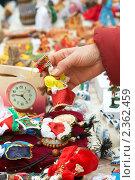 Купить «Ярмарка ремесел на Масленицу», фото № 2362459, снято 1 марта 2009 г. (c) Ольга Красавина / Фотобанк Лори