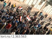 Купить «Египетская революция», фото № 2363563, снято 11 февраля 2011 г. (c) nadegdaf / Фотобанк Лори