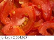 Салат из помидоров. Стоковое фото, фотограф Стасис Иогминас / Фотобанк Лори