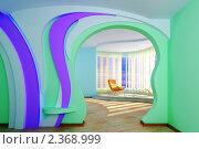 Купить «Интерьер гостиной», иллюстрация № 2368999 (c) Сахно Роман Викторович / Фотобанк Лори
