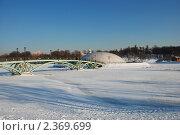Купить «Фонтан под куполом и мост в парке Царицыно. Москва», эксклюзивное фото № 2369699, снято 18 февраля 2011 г. (c) lana1501 / Фотобанк Лори