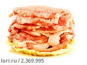 Купить «Сырое мясо», фото № 2369995, снято 26 февраля 2011 г. (c) Peredniankina / Фотобанк Лори
