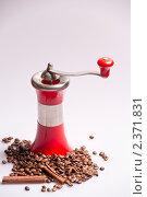 Купить «Кофемолка», фото № 2371831, снято 2 февраля 2011 г. (c) Алексей Лучин / Фотобанк Лори