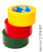 Купить «Цветной скотч», фото № 2374491, снято 26 февраля 2011 г. (c) Юрий Плющев / Фотобанк Лори