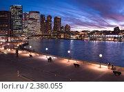 Купить «Вид на центральный деловой район Сиднея», фото № 2380055, снято 17 августа 2010 г. (c) Elena Monakhova / Фотобанк Лори